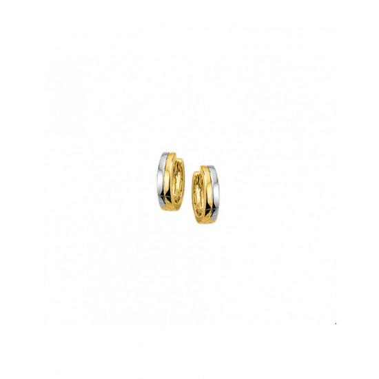 Goud bicolor GW klap - 4107